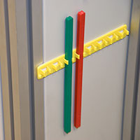 Mounting rails & blocking bars