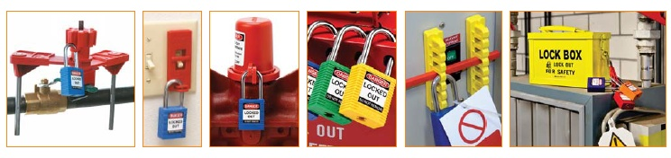 lockout tools and warning devices