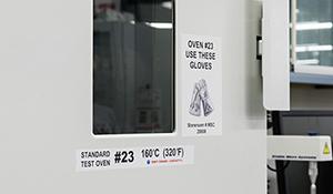 Equipment labels